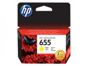 HP 655 Tusz Yellow CZ112AE