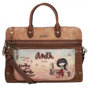 "ANEKKE 30704 Arizona Torba na laptopa 14"" damska"