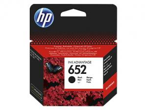 HP 652 Tusz Black F6V25AE
