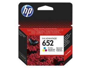 HP 652 Tusz Tri-colour F6V24AE