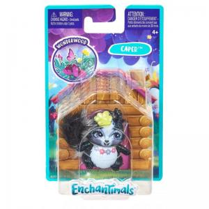 Enchantimals GLH33 Caper brokatowy skunks figurka